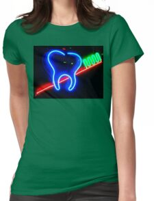 Brush YourTeeth Womens Fitted T-Shirt