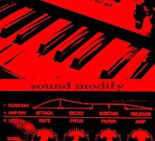 Synth Keyboard Sound Modify by StephenRphoto