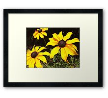 You Are My Sunflower Framed Print