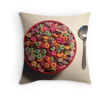 Cereal Throw Pillow