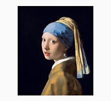 Girl with a Pearl Earring by Johannes Vermeer (1665) Unisex T-Shirt