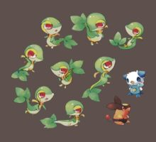 Snivy Gang One Piece - Short Sleeve