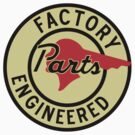 Pontiac Factory Parts vintage sign reproduction by htrdesigns