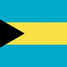 Flag of the Bahamas Sticker by Mark Podger