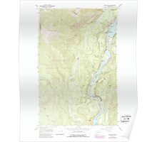 USGS Topo Map Washington State WA Metaline 242315 1967 24000 Poster