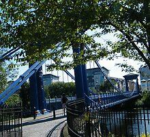 St Andrew's Bridge, Glasgow, Scotland by ElsT