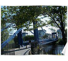 St Andrew's Bridge, Glasgow, Scotland Poster