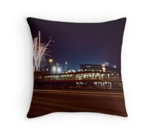 Chicago White Sox Homer fireworks Throw Pillow