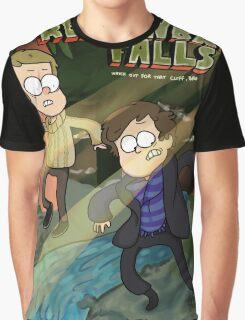 Reichenbach Falls Graphic T-Shirt