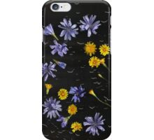 iPhone Case of painting...Parking lot posies... iPhone Case/Skin