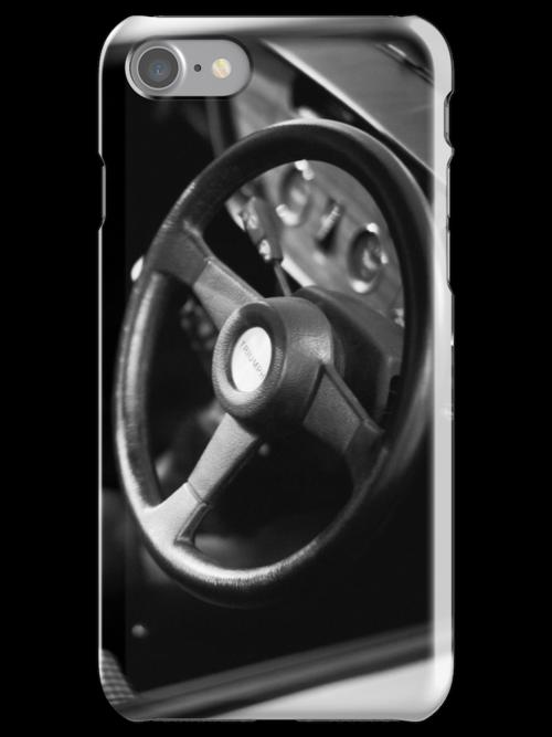 Triumph Spitfire interior iPhone case by Martyn Franklin