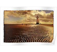 Talacre Lighthouse Point of Ayr Poster