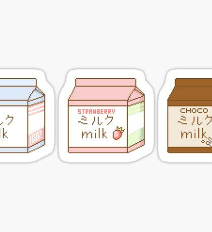 Milk Box Set Sticker