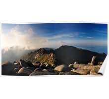 North Goatfell from Goatfell Poster