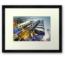 Silk & Steel 2.0 Framed Print