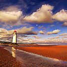 Old Talacre Lighthouse by Mal Bray