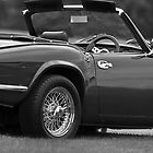 Classic British Triumph for your iPhone by Martyn Franklin