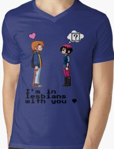 I'm in lesbians with you <3 Mens V-Neck T-Shirt