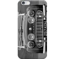 TR3 a British classic car iPhone Case/Skin