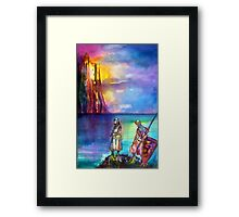 LEGENDS OF MAGIC AND MYSTERY / PENDRAGON Framed Print