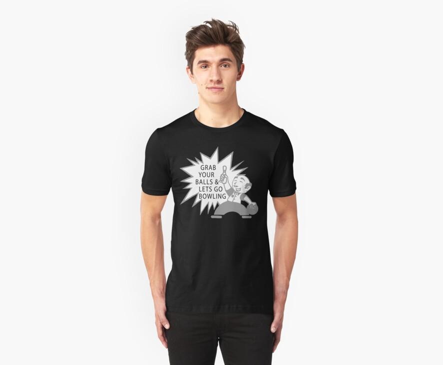 Very Funny Bowling T-Shirt by SportsT-Shirts