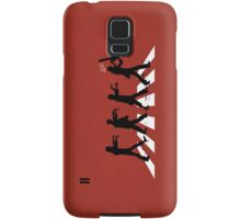 Zombies on Abbey Road (Version 02) Samsung Galaxy Case/Skin