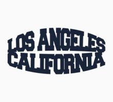 Los Angeles California - navy Kids Tee