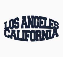 Los Angeles California - navy One Piece - Long Sleeve