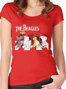 The Beagles Women's Fitted Scoop T-Shirt