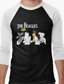 The Beagles Men's Baseball ¾ T-Shirt