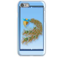 Flying Peacock iPhone Case/Skin