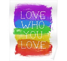 love who you love Poster