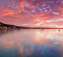 """Sunrise at St. Aubin's, Jersey"" by Bradley Shawn  Rabon"