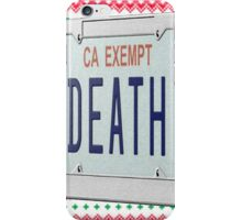 Death Grips Christmas 1 iPhone Case/Skin