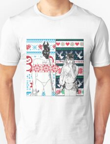 Christmas themed Money Store T-Shirt