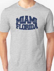 Miami Florida - navy T-Shirt