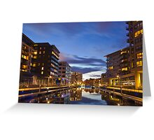 CLAREANCE DOCK LEEDS WEST YORKSHIRE ENGLAND Greeting Card