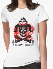 Elegant Savage Skull T-Shirt