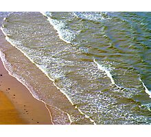 Rolling Gently To The Shore Photographic Print