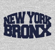 New York Bronx - navy One Piece - Long Sleeve