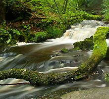 STEETON WATERFALLS by Matthew Burniston