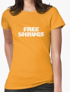 Free shrugs Womens Fitted T-Shirt
