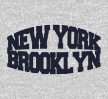 New York Brooklyn - navy Kids Clothes