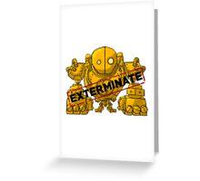 Blitzcrank - exterminate Greeting Card