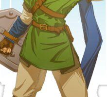 Hyrule's Hero - Link Sticker