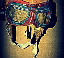 Pilot Cloth Helmet by Evita