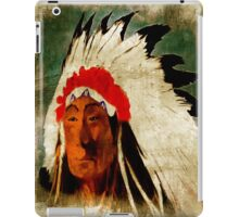American Indian Chief iPad Case/Skin