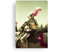 My knight in shining armour Canvas Print