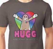 Hugg - Saving the world, one hug at a time. Unisex T-Shirt