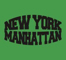 New York Manhattan Baby Tee